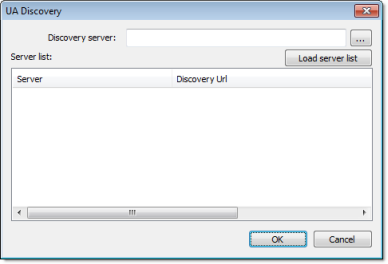 Configuring an OPC UA Client connection to an OPC UA Server